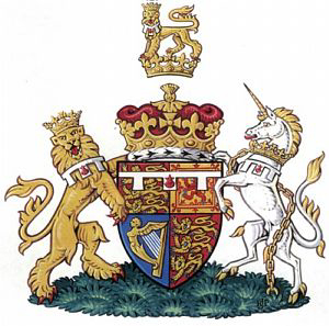Coat of Arms of the Tudor Princes of